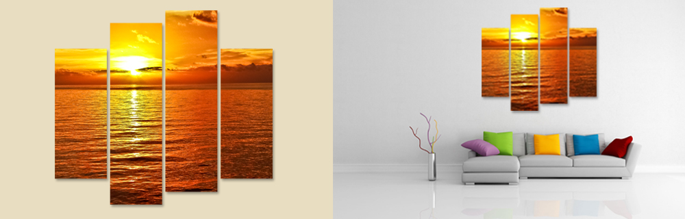 multipanel wall art enhances any decor with and style